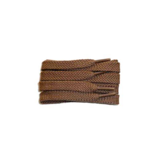 Schuhband sport, 75 cm, hellbraun, flach