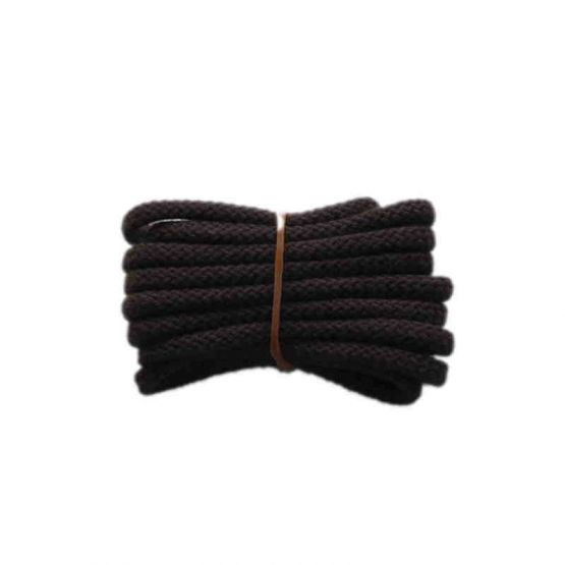 Schnürsenkel/Schuhband klassisch, 90 cm, braun, sport rund