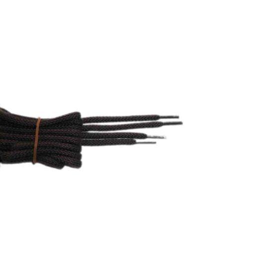 Schuhband klassisch, 90 cm, braun, sport rund