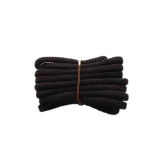 Schuhband klassisch, 120 cm, braun, sport rund