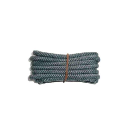 Schuhband klassisch, 120 cm, grau, sport rund