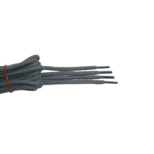 Schnürsenkel/Schuhband klassisch, 120 cm, grau, sport rund