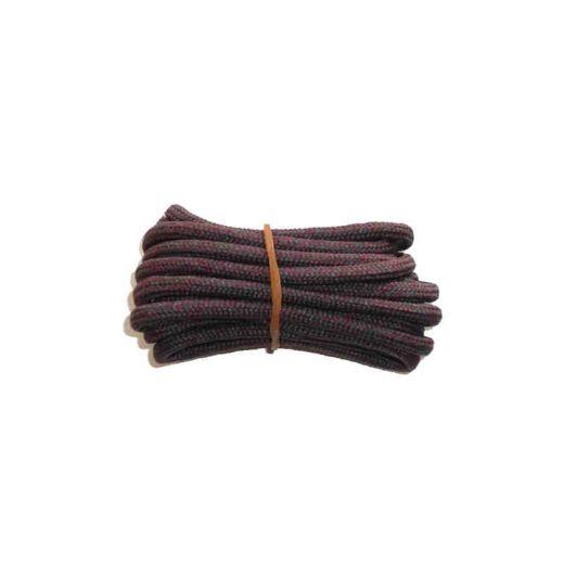 Schnürsenkel/Schuhband rund dick 120 cm rotbraun für Bergsport, Trekking, Outdoor