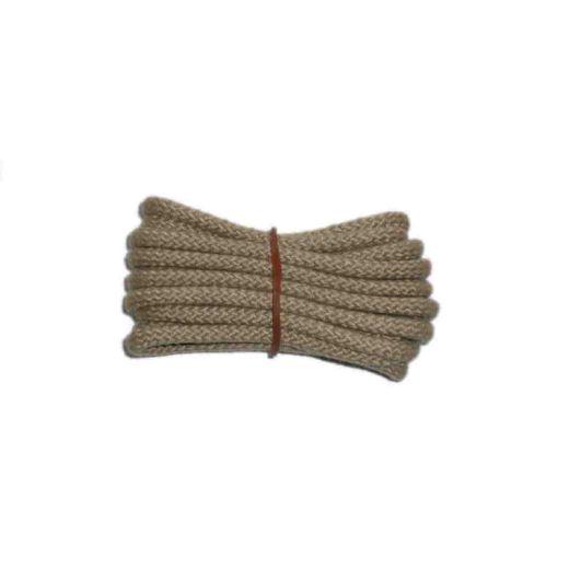 Schnürsenkel/Schuhband klassisch, 90 cm, hellbeige, sport rund