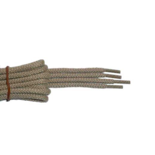 Schuhband klassisch, 120 cm, hellbeige, sport rund