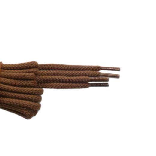 Schnürsenkel/Schuhband klassisch, 75 cm, hellbraun, sport rund