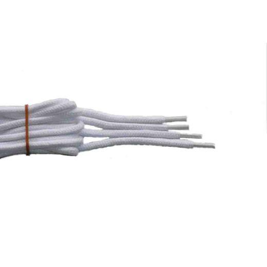 Schnürsenkel/Schuhband klassisch, 90 cm, weiss, sport rund