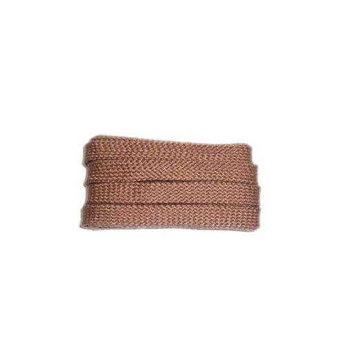 Schnürsenkel/Schuhband sport, 120 cm, cognac, flach