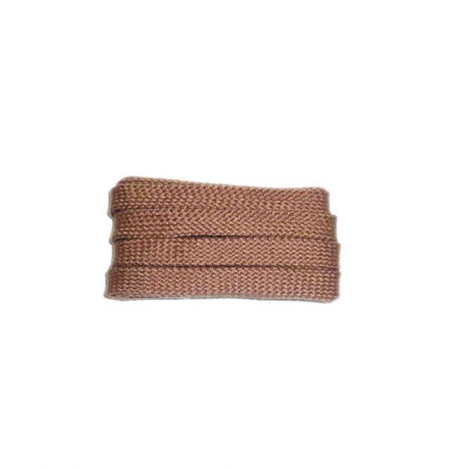 Schnürsenkel/Schuhband sport, 90 cm, cognac, flach