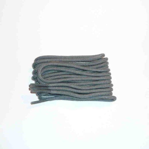 Schnürsenkel/Schuhband klassisch, 120 cm, grau, dünn