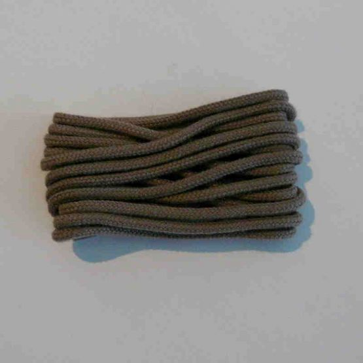 Schuhband klassisch, 120 cm, schlamm, dünn