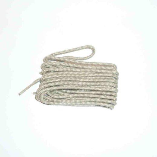 Schuhband klassisch, 120 cm, hellbeige, dünn