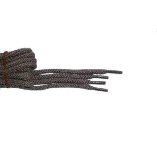 Schnürsenkel/Schuhband klassisch, 65 cm, schlamm, sport rund