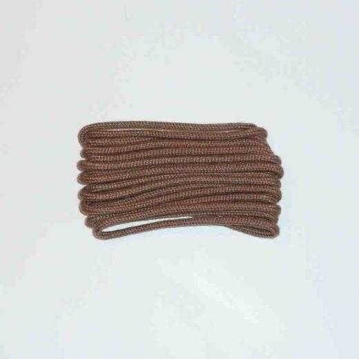 Schuhband klassisch, 75 cm, hellbraun, dünn