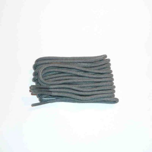 Schuhband klassisch, 65 cm, grau, dünn