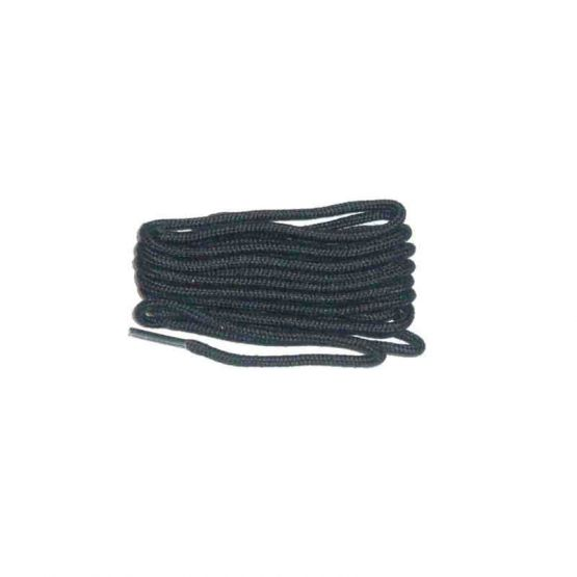 Schuhband klassisch, 150 cm, schwarz, dünn