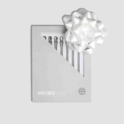 HICKIES Swarovski Grey with Crystal