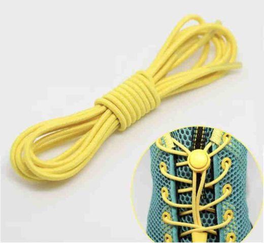 Elastic Locking Laces Yellow