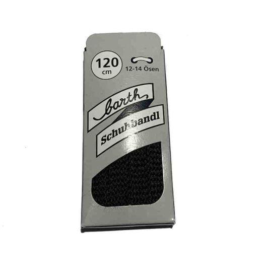 Schnürsenkel/Schuhband sport, 120 cm, dunkelblau, flach