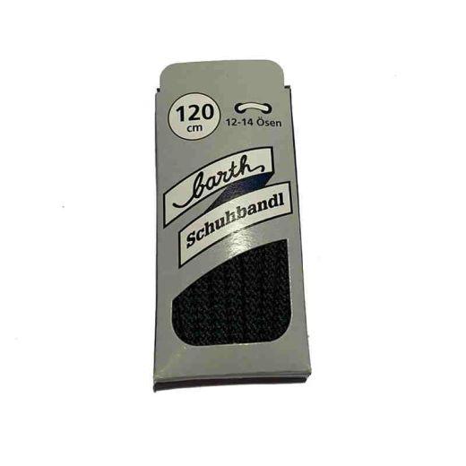 Schnürsenkel/Schuhband klassisch, 120 cm, dunkelblau, extra dick
