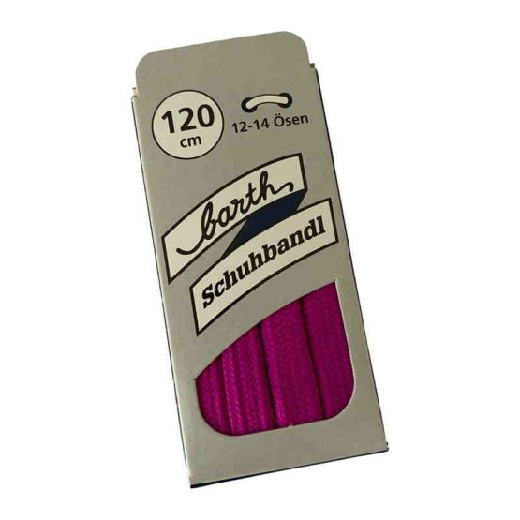 Sneaker Schnürsenkel, Farbe: Violett, flach, 120 cm