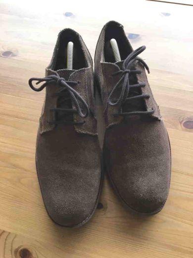 Schuhband klassisch, 100 cm, braun, extra dick