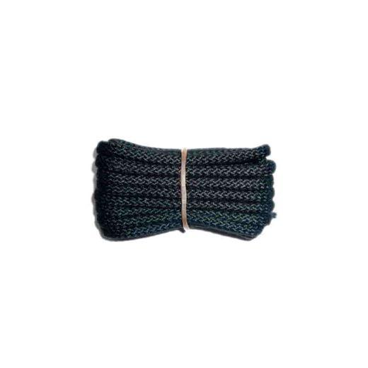 Schnürsenkel/Schuhband klassisch, 100 cm, schwarz, extra dick