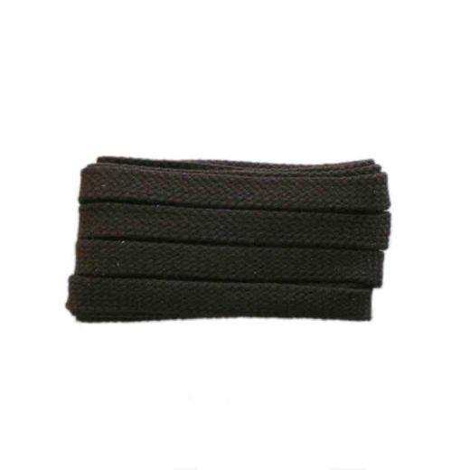 Schnürsenkel/Schuhband sport, 120 cm, braun, flach