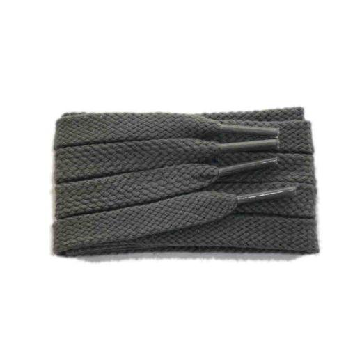 Schuhband sport, 120 cm, grau, flach