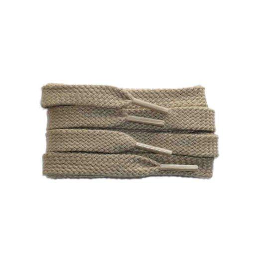 Schnürsenkel/Schuhband sport, 75 cm, hellbeige, flach