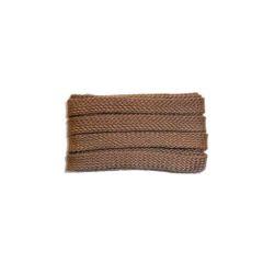 Schuhband sport, 120 cm, hellbraun, flach