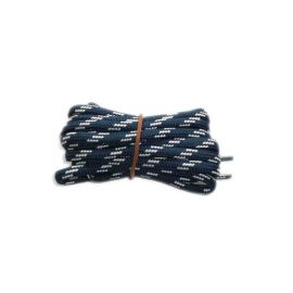 Shoelace circle strong 120 cm blue & white for Mountaineering, Trekking, Outdoor