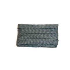 Shoelace sportive, 180 cm, grey, flat
