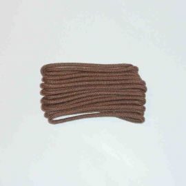 Shoelace classic, 75 cm, light brown, slim