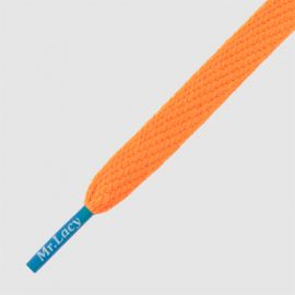 Mr Lacy 130 cm burnt orange / athletic blue tip, Flatties