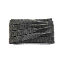 Schnürsenkel/Schuhband sport, 65 cm, grau, flach