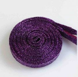 Glitter Shoe Laces 110 cm, purple