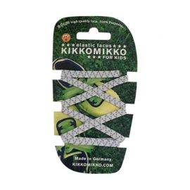 Kikko Mikko Shoe Laces White Reflect