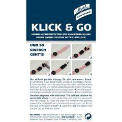 Klick & Go 120 cm schwarz
