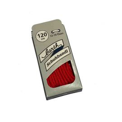 Schnürsenkel/Schuhband klassisch, 120 cm, rot, dünn
