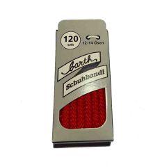 Schnürsenkel/Schuhband klassisch, 120 cm, rot, extra dick