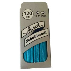 Sneaker Schnürsenkel, Farbe: Neon Hellblau, flach, 120 cm