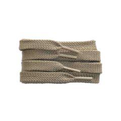 Schnürsenkel/Schuhband sport, 120 cm, hellbeige, flach